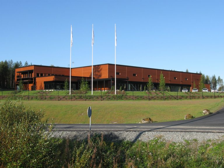Tommi Mäkinen Racing autohalli, 2300m2, Puuppola